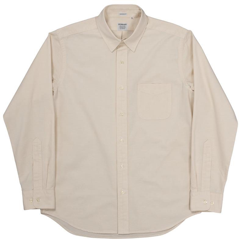 Modified Regular Collar Shirt Lt. Ecru OX