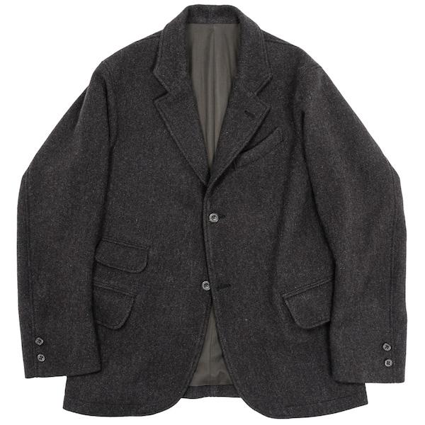 Moonglow JKT Dark Brown Herringbone Tweed