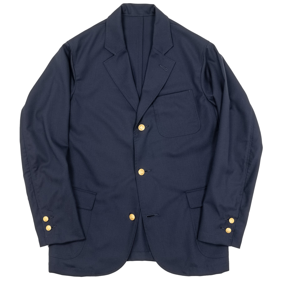 Navy Blazer Tropical