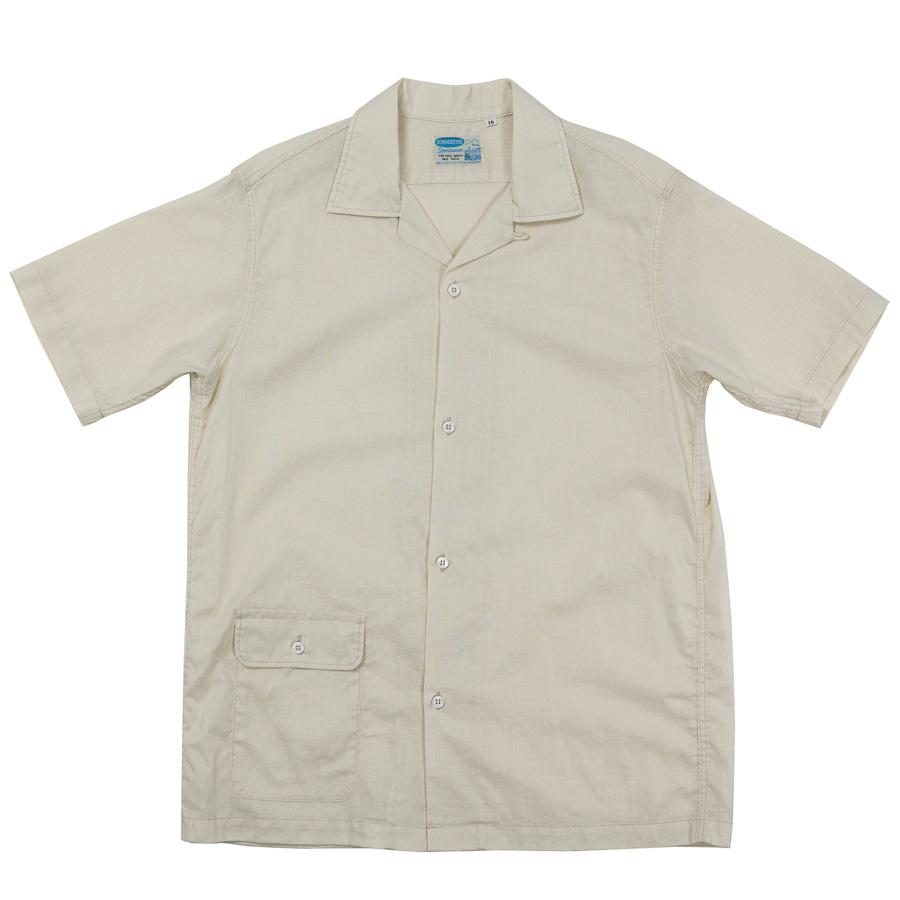 Open Collar Shirt CL Ivory
