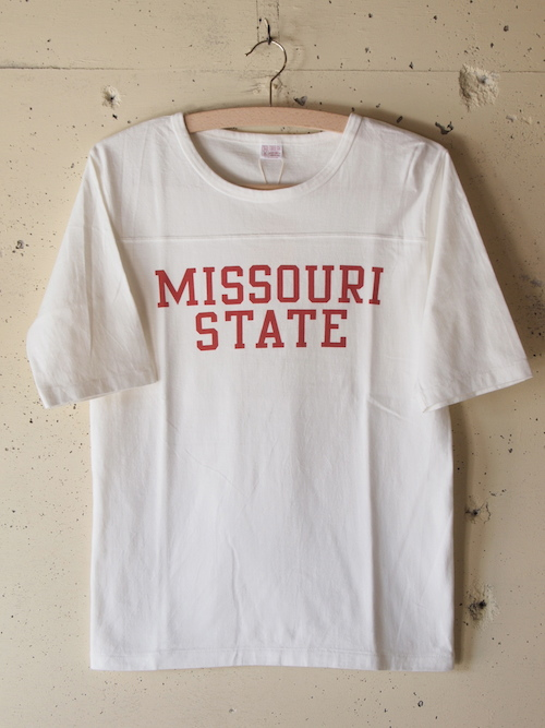 PINE TREE 七分 T-Shirt Missouri-White