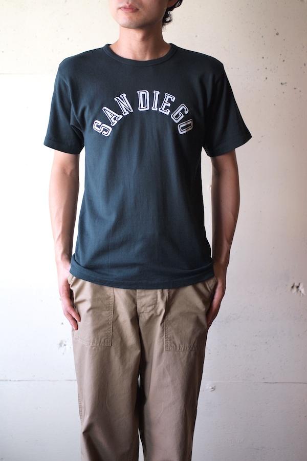 Pine Tree Co. T-Shirt San Diego, Dark Green-1