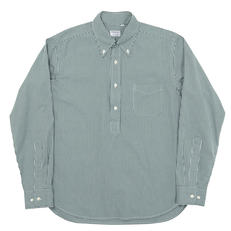 Pull Over BD Green Check