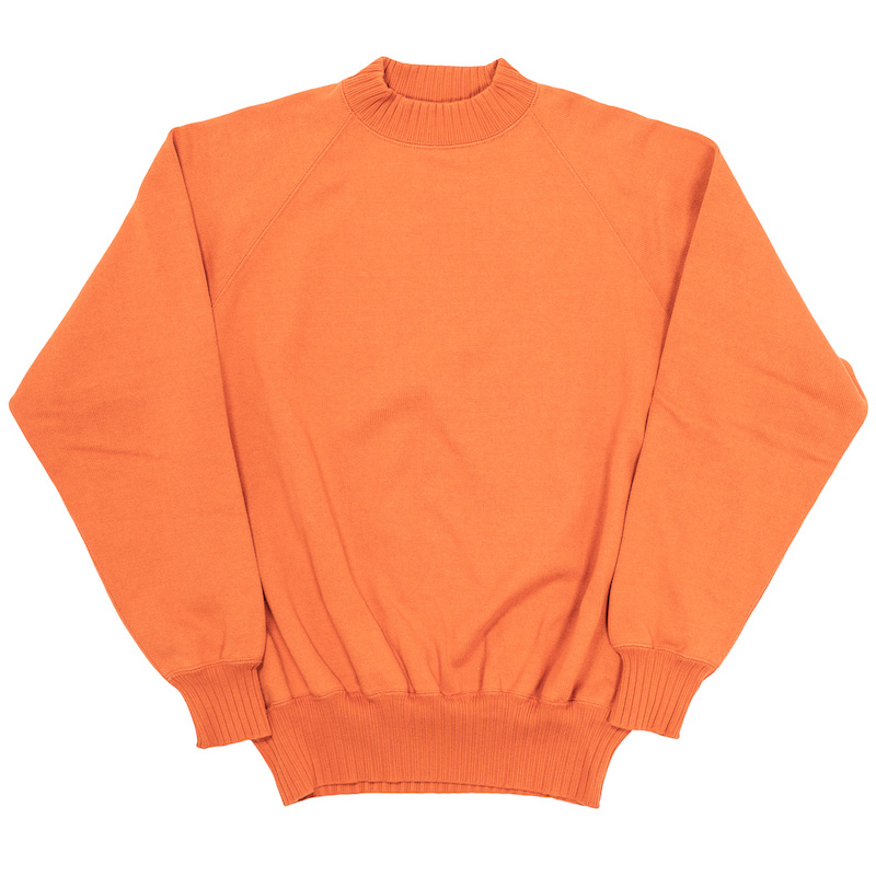 Raglan Sweater Orange