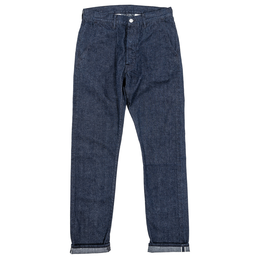 Raw Denim Trousers
