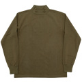 3-PLY Long Tee Mock Khaki