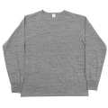 6oz L/S Tee Crew Neck, Grey