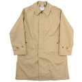 Bal Collar Coat Cotton Gabardine Beige