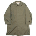 Bal Collar Coat Cotton Gabardine Khaki