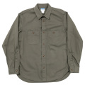 Basic Work Shirt Khaki Twill