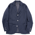 Blazer Dark Navy Wool Serge