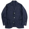 Blazer Wool Mohair Tropical Dark Navy