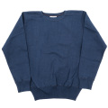 Boatneck Sweater Navy-2019