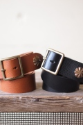 Button Works End Concho Belt-Main