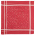 Cotton Sateen Scarf Red Star Dot