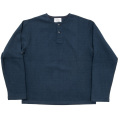 Cotton Sweater Henry Navy