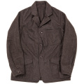 Cruiser JKT Wool Melton Brown