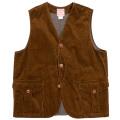 Cruiser Vest Dark Brown Corduroy