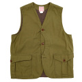 Cruiser Vest R. Sateen Reactive Dyeing Coyote