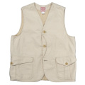 Cruiser Vest Reversed Sateen Ecru