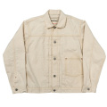 Denim JKT 10.5oz White Denim