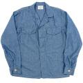 Fatigue Shirt Blue Chambray