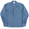 Fatigue Shirt Blue Chambray