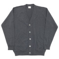FC Knit Cardigan Charcoal
