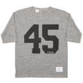 Football Tee 45 Grey
