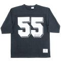 Football Tee 55 Black