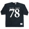 Football Tee City Lights black