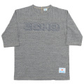 Football Tee ECHO Grey