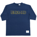 Football Tee ECHO Navy