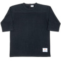 Football Tee Plain Black