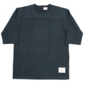 Football Tee Plain Black-2021