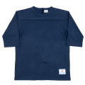 Football Tee Plain Navy