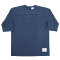 Football Tee Plain Navy-2021