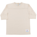 Football Tee Plain Oatmeal