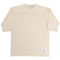 Football Tee Plain Oatmeal-2021