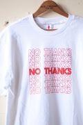 GMT (General Mean T-Shirts) No Thanks White-1