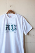GMT Printed T-Shirt FOOD, White-1