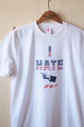 GMT Printed Tee I Hate Her White-1