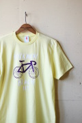 GMT Printed T-Shirt Rockaway Beach NY, Yellow-1