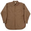 Grandpa Shirt Brown Twill
