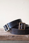 HALCYON Bridle Leather Belt-Top
