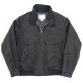 Harrington JKT Cotton Poly Gabardine Black