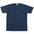 Henley Neck Tee Navy