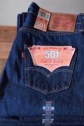 Levi's (リーバイス) 501 Rinse White Oak Denim Made in USA-1