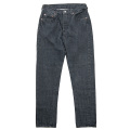Lot.802 Slim Black Denim washed