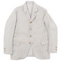 Lt. Creole JKT cotton Linen Stripe